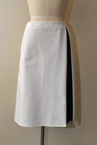 SOFIE D'HOORE SULTAN 2トーン スカート col.WHITE×BLACK