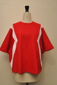 "KOCHE  ""OVER SIZE T-SHIRT""  col.RED"