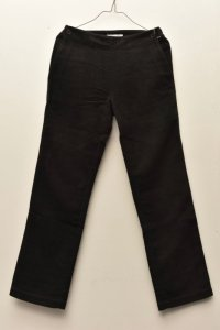 n100/エヌワンハンドレッド Cotton moleskin Pants  col.black