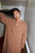 画像7: Cristaseya   #02EF-K LINEN TUNIC WITH PADDED COLLAR   col.OCHER