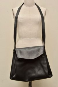 "m.a+ ""SMALL EXPANDABLE ACCORDION BAG"" col.BLACK"