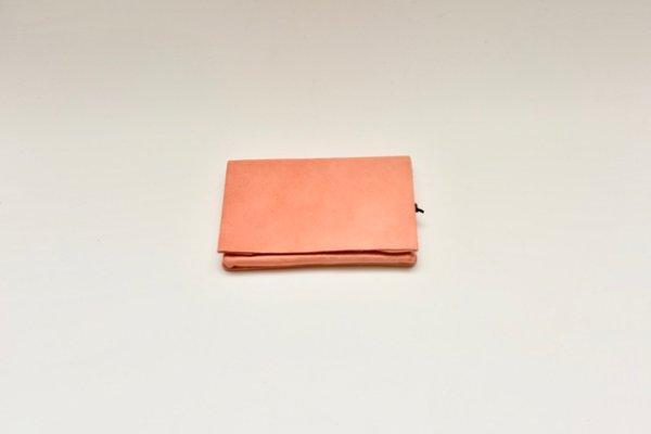 画像1: m.a+   small wallet  W7-KAO 1.2   col, TIGERLILY RED