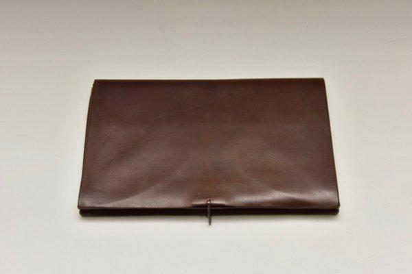 画像1: m.a+  extra large wallet  W11/H-VARE 0.7  col, BROWN