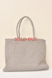 sophie digard EXTRA LARGE WAXED LINEN BAG  col.NOISETTE