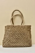 sophie digard MEDIUM WAXED LINEN BAG  col.KINGDOM