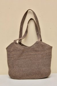 sophie digard RGE WAXED LINEN BAG  col.NBRUNO HC