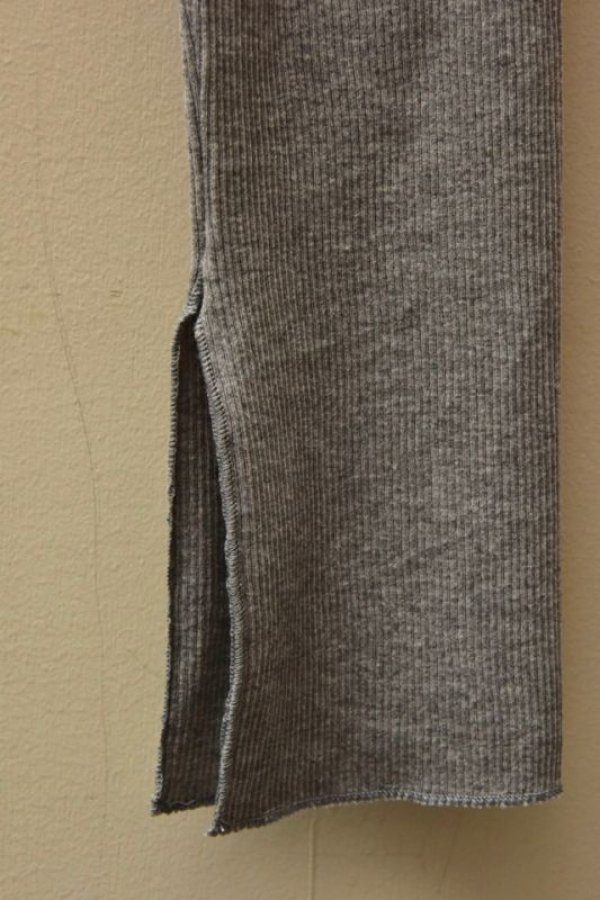 画像4: AURALEE HIGH GAUGE RIB SLIT TIGHTS 【A00T01TE】col.TOP GREY