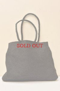 sophie digard EXTRA LARGE WAXED LINEN BAG  col.NOIR