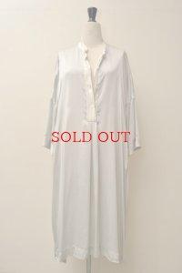 CASEY CASEY  10FR190 / CREPE SATIN DRESS   col.SILVER