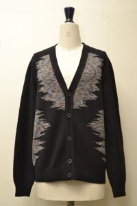 "MISSONI "" Multicolour Wool Jacquard Cardigan "" col.155"