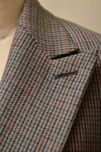 "画像10: AURALEE  ""DOUBLE FACE CHECK DOUBLE-BREASTED COAT""  col, CHARCOAL GUNCLUB CHECK"