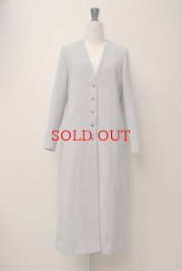 humoresque  plain coat  col.LIGHT GRAY