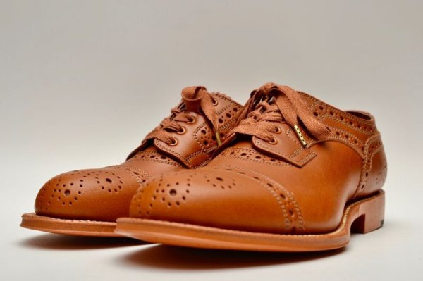 画像2: foot the coacher レディース MENDELL( LEATHER SOLE) col.LIGHT BROWN