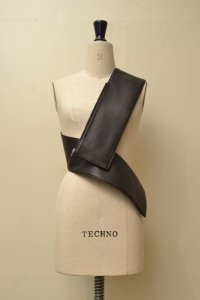 TSATSAS  ツァツァス SOMA  Belt Bag   col.BLACK