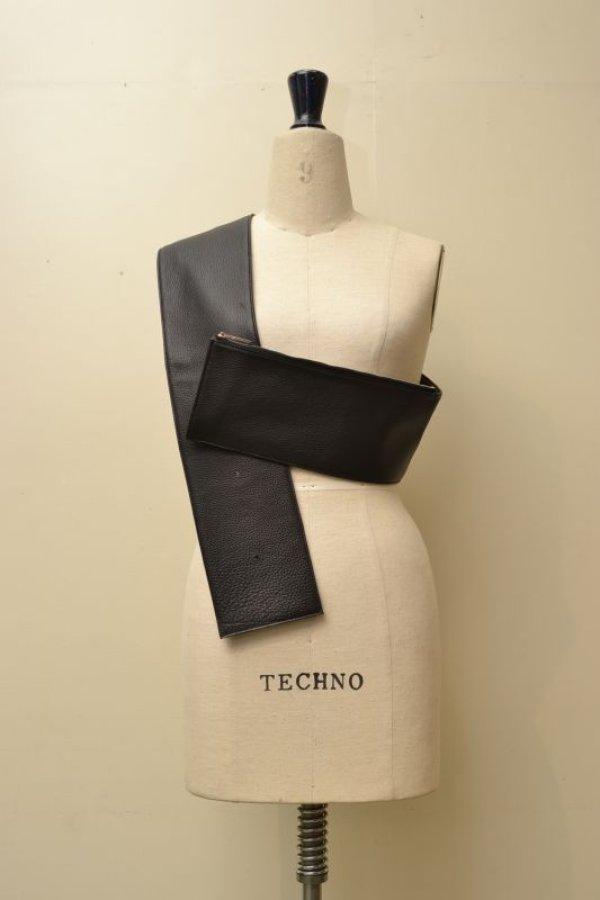 画像2: TSATSAS  ツァツァス SOMA  Belt Bag   col.BLACK