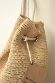 "画像3: MAISON N.H PARIS  ""NATHALIA MM RAFFIA""  col.NATURAL (3)"