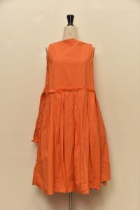 "DANIELA GREGIS  ""abito dress 20.07.11 lavato"" col.ORANGE"