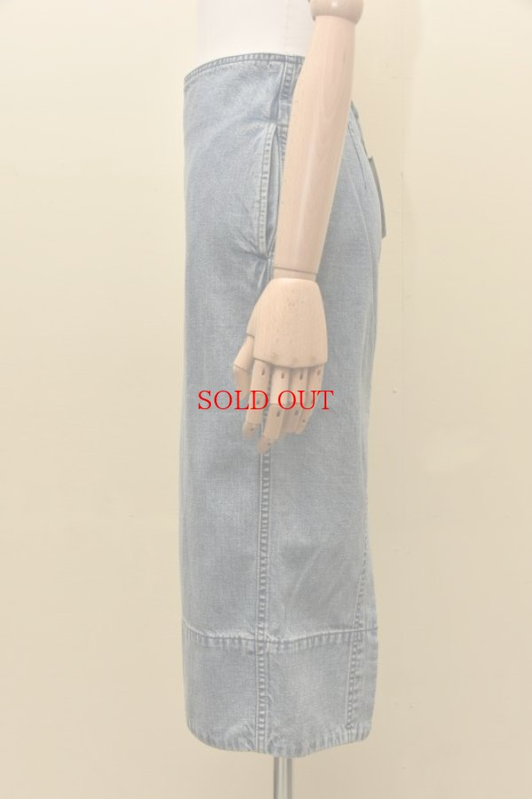 画像3: MADISONBLUE  SOFIE DENIM TIGHT LONG SKIRT    (VW)  col.BLUE