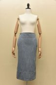 画像2: MADISONBLUE  SOFIE DENIM TIGHT LONG SKIRT    (VW)  col.BLUE (2)