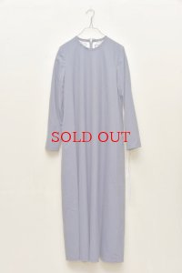 "humoresque  ""plain dress""  col.blue stripe"
