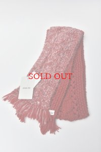 "eleven 2nd  ""Cable Aran Mini Stole"""