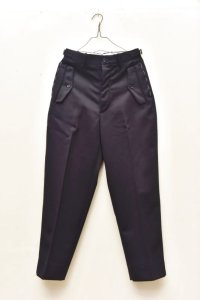 "RICHFIELD  ""Wool Wide Straight Trousers""  B20M-03 col.NAVY"