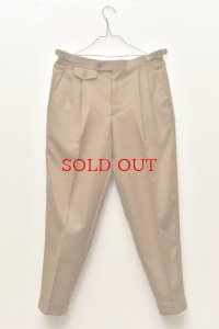"RICHFIELD  ""Wool 2tuck Tapered Trousers""  B20M-07 col.KHAKI"