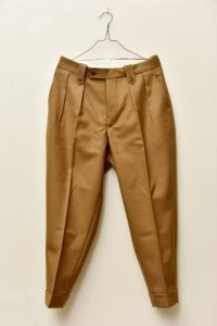 "RICHFIELD  ""Wool Wide Tapered Trousers""  B20M-05 col.KHAKI"