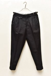 "RICHFIELD  ""Wool 2tuck Tapered Trousers""  B20M-07 col.BLACK"