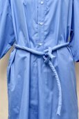 "画像8: Cristaseya  #17H-C-BL ""LIGHT COTTON  CAFTAN WITH PADDED COLLAR""  col.LIGHT BLUE"