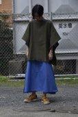 """画像8: Cristaseya  #16TW-BW-K """"HANDWOVEN FRINGED LARGE PONCHO""""  col.KHAKI"""