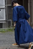 "画像10: Cristaseya  #07DA-C-BL ""LIGHT COTTON OVERSIZED CAFTAN""  col.BLUE"