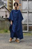"画像11: Cristaseya  #07DA-C-BL ""LIGHT COTTON OVERSIZED CAFTAN""  col.BLUE"