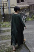 "画像12: Cristaseya  #07DA-C-FG ""LIGHT COTTON OVERSIZED CAFTAN""  col.FOREST GREEN"