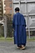 """画像7: Cristaseya  #01DA-C-BL  """"OVERSIZED LIGHT COTTON SUMMER TRENCH""""  col.BLUE"""