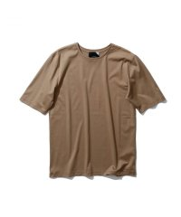 "ATON    ""SUVIN 60/2 PERFECT SHORT T-SHIRT""  col. BEIGE"