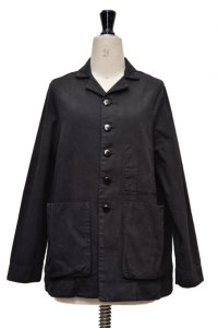 "toogood "" THE PHOTOGRAPHER JACKET - CANVAS "" col.FLINT(BLACK)"