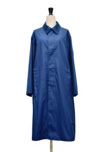"Cristaseya  #01DA-C-BL  ""OVERSIZED LIGHT COTTON SUMMER TRENCH""  col.BLUE"