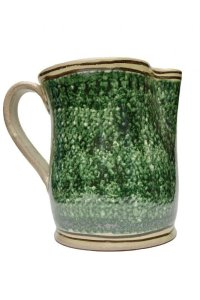 "Cristaseya  #02MEP-G  ""CERAMIC PITCHER""  col.GREEN"