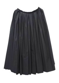 "humoresque  ""random tuck skirt""  col.black"