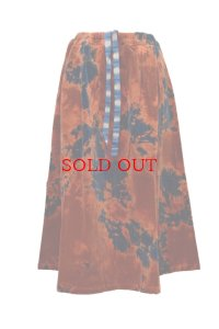 "SUZUSAN  ""Corduroy Flare Skirt""  6007CP-01 col.Dark Blue/Dark Orange"