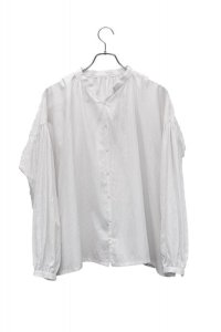 "humoresque  ""gather blouse""  col.white"