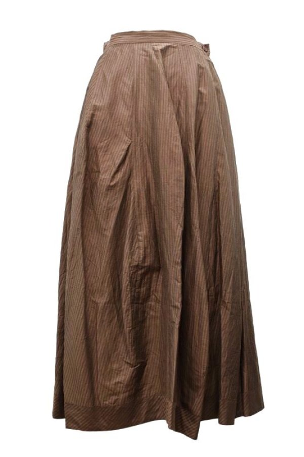 画像1: humoresque   volume skirt  col.brown