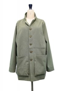 """toogood """" THE PHOTOGRAPHER JACKET - WOOL COTTON DRILL """"  col.LICHEN"""