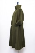 "画像4: toogood "" THE FENCER COAT - LAMBSWOOL FELT HW ""  col.FOREST (4)"