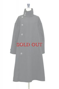 "toogood "" THE FENCER COAT - LAMBSWOOL FELT HW ""  col.FLINT"