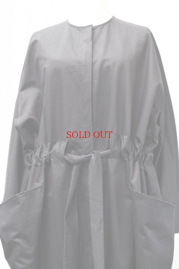"画像2: TENNE HANDCRAFTED MODERN  ""WIDE WEIST BELT DRESS""   col, BLACK"