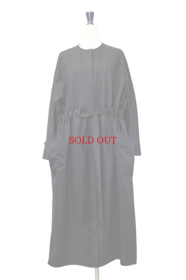 "画像1: TENNE HANDCRAFTED MODERN  ""WIDE WEIST BELT DRESS""   col, BLACK"