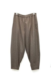 "toogood "" THE ACROBAT TROUSER - WOOL CASHMERE "" col.PEAT"