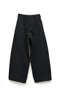 "toogood "" THE WRITER TROUSER - WOOL COTTON DRILL "" col.FLINT"
